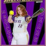 Girls Varsity Softball Senior Spotlight: Josalynn Rightnour