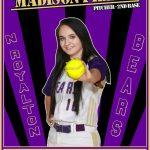 Girls Varsity Softball Senior Spotlight: Maddie Piller