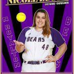Girls Varsity Softball Senior Spotlight: Nicole Zucco
