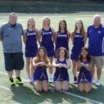 North Royalton High School Girls Varsity Tennis falls to Aurora High School 4-1