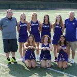 Girls Varsity Tennis Update:  Bears Hang On To 4th in SL