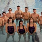 Bears Swim Teams Celebrate Seniors with Double Dual Sweeps