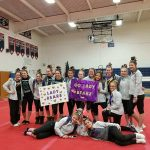 Girls Varsity Gymnastics Team Moves On To Districts With 2nd Place Finish