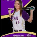 Senior Cassie Fendrick Providing Leadership on the Softball Field
