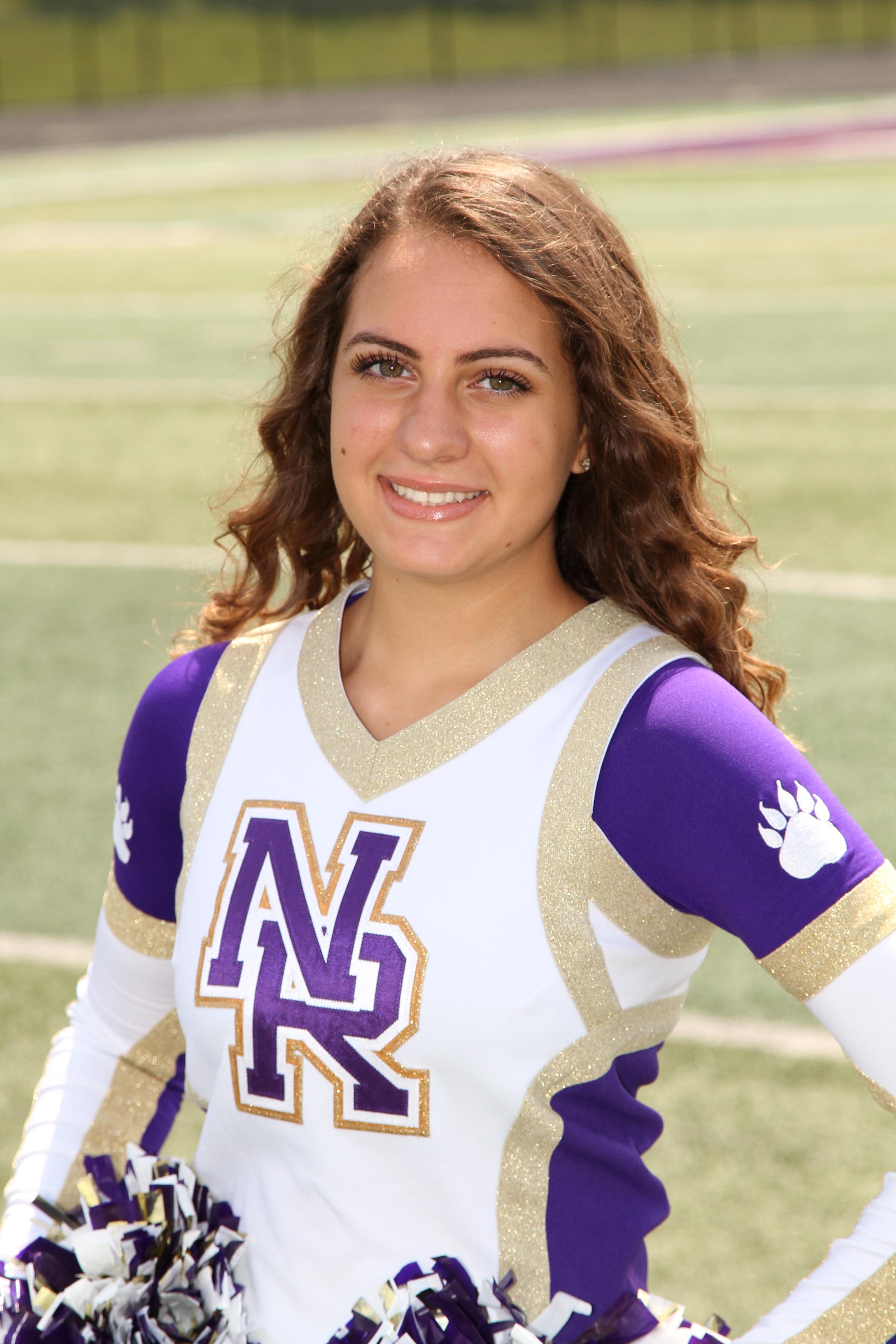 Girls Varsity Cheer Senior Spotlight:  Ava Terovolas