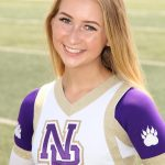 Girls Varsity Cheer Senior Spotlight:  Victoria Chmura