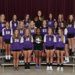 Girls 8th Grade Volleyball Team Falls to Highland Middle School 3 – 0