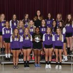 MS Girls 8th Grade Volleyball – 2018 Fall Sports Awards Winners