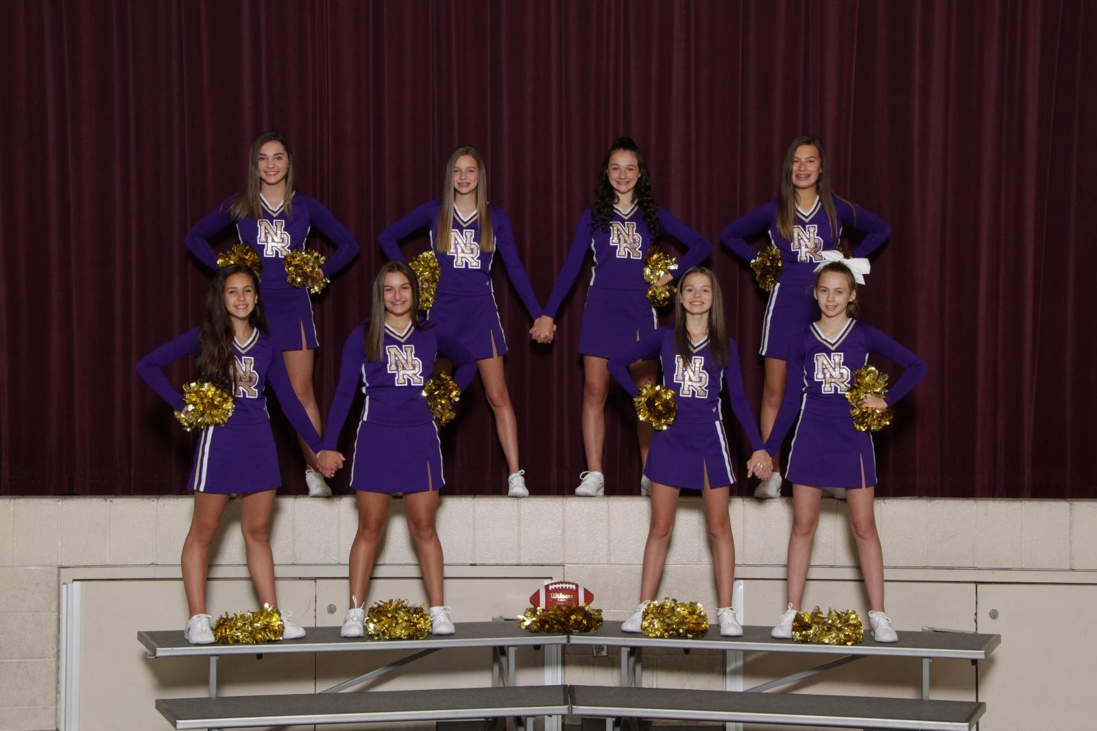 MS Girls 8th Grade Cheerleading – 2018 Fall Sports Awards Winners