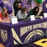 Turchanik, Krikke and Parks:  Three NR Athletes Sign Letter Of Intent