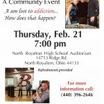 """""""Joey's Story"""" A Community Event on Thursday, February 21st at 7:00 PM"""