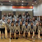 Bears Gymnastics Team Finishes 2nd at Suburban League Conference Championship and Costello Wins All-Around