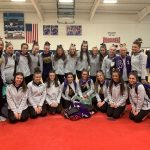 Varsity Gymnastics Finish in 2nd Place at Sectionals and Qualify for Districts