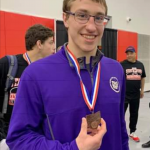 Twarog Places 8th at State Wrestling Tournament