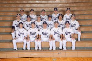 2019 Boys JV Baseball Team