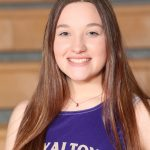 Girls Varsity Track Senior Spotlight:  Julie Blechschmid