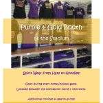 NRAB Membership Forms Accepted & Available at Purple & Gold Booth Tonight at the Varsity Football Game