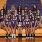Girls 8th Grade Volleyball Team Falls to Copley 2-1