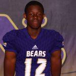 Boys Varsity Football Senior Spotlight: Trevaris Cuthrell