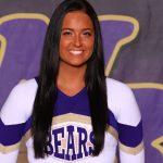 Girls Varsity Cheerleader Senior Spotlight: Sarah Dushaw