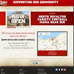 Raising Cane's Fundraiser TOMORROW Tuesday, September 24th for the Boys North Royalton Varsity Football Team Program