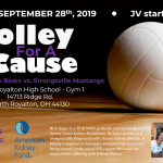 "NRHS Girls Volleyball Team to Host ""Volley for a Cause"" Event on September, 28th"