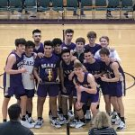 Boys Varsity Basketball Team Takes Honey Jar Away From Brecksville 58-47