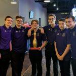 "Boys Varsity Bowling Team Retains ""Golden Pin"" & Defeats Brecksville 1995-1894"