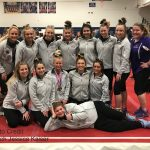 Girls Varsity Gymnastics Team Headed To States