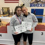 Congrats to Avery Keller & Mya Costello for Accomplishments at OHSAA Gymnastics State Competition