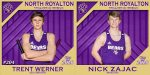NRHS Class of 2020 Spring Senior Banners: Trent Werner & Nick Zajac