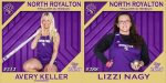 NRHS Class of 2020 Spring Senior Banners: Avery Keller & Lizzi Nagy