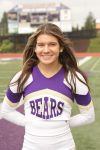 Girls Varsity Cheerleading Senior Spotlight:  Madalyn Weiss