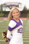 Girls Varsity Cheerleading Senior Spotlight:  Maddy Yuzwa
