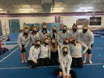 Girls Varsity Gymnastics Team Finishes in 2nd Place at Lake Erie Gymnastics