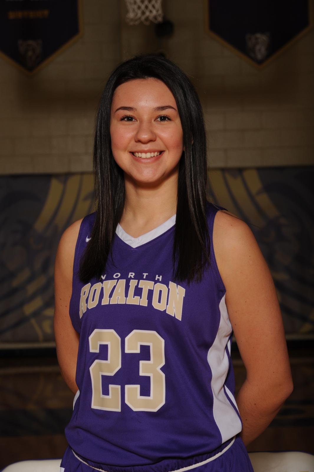 Girls Varsity Basketball Senior Spotlight: Tiffanie Radwanski