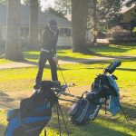 Sun Shines on Golf