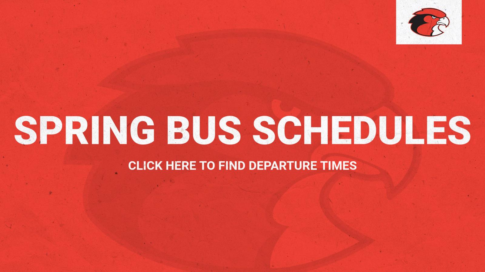 Sports Bus Departure Calendar