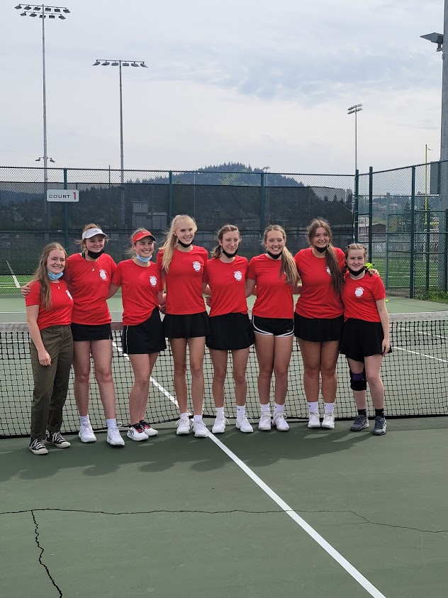 2021 Girls Tennis Seniors