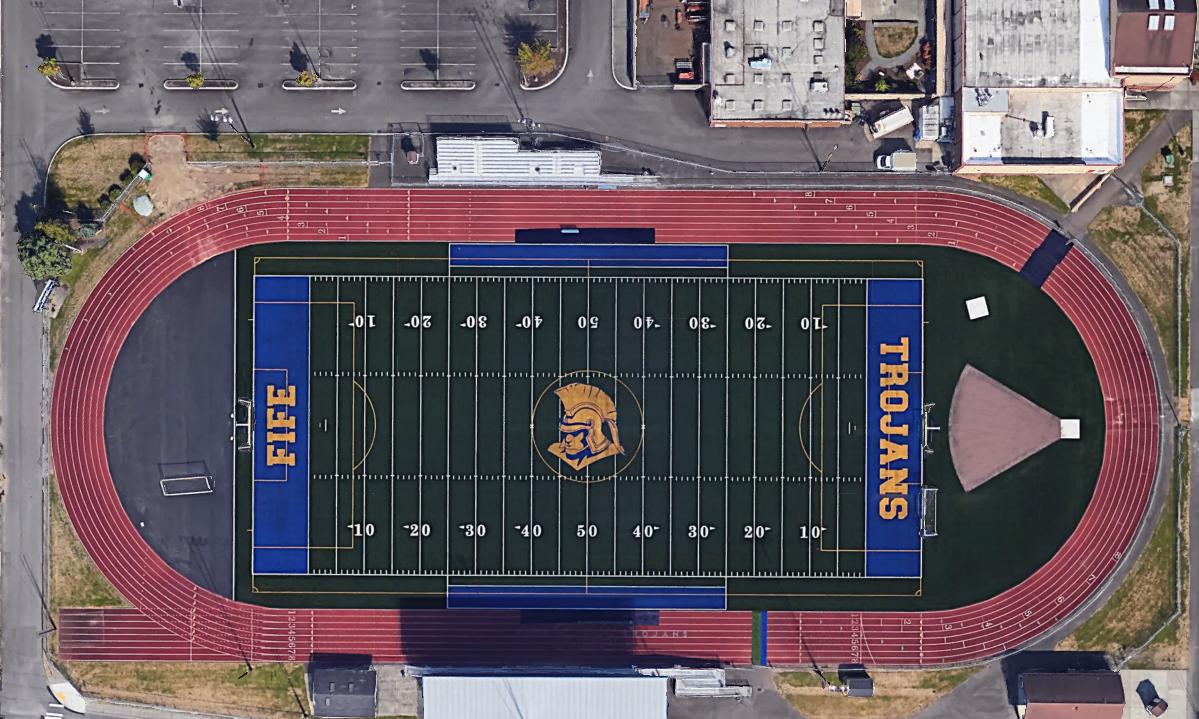 Vinson Field at Trojan Memorial Stadium