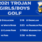 21 Golf Schedule