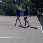 Fife Girls Tennis with a 5-0 Victory over Foss