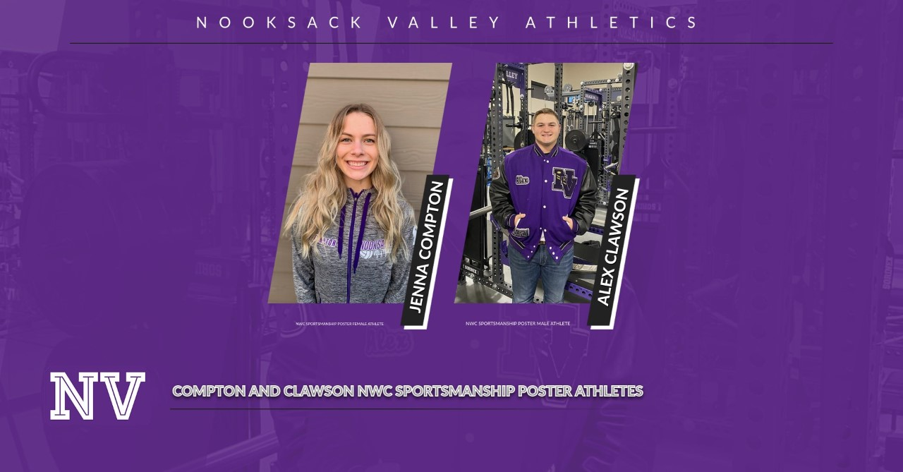 VALLEY STUDENT ATHLETES ON NWC SPORTSMANSHIP POSTER