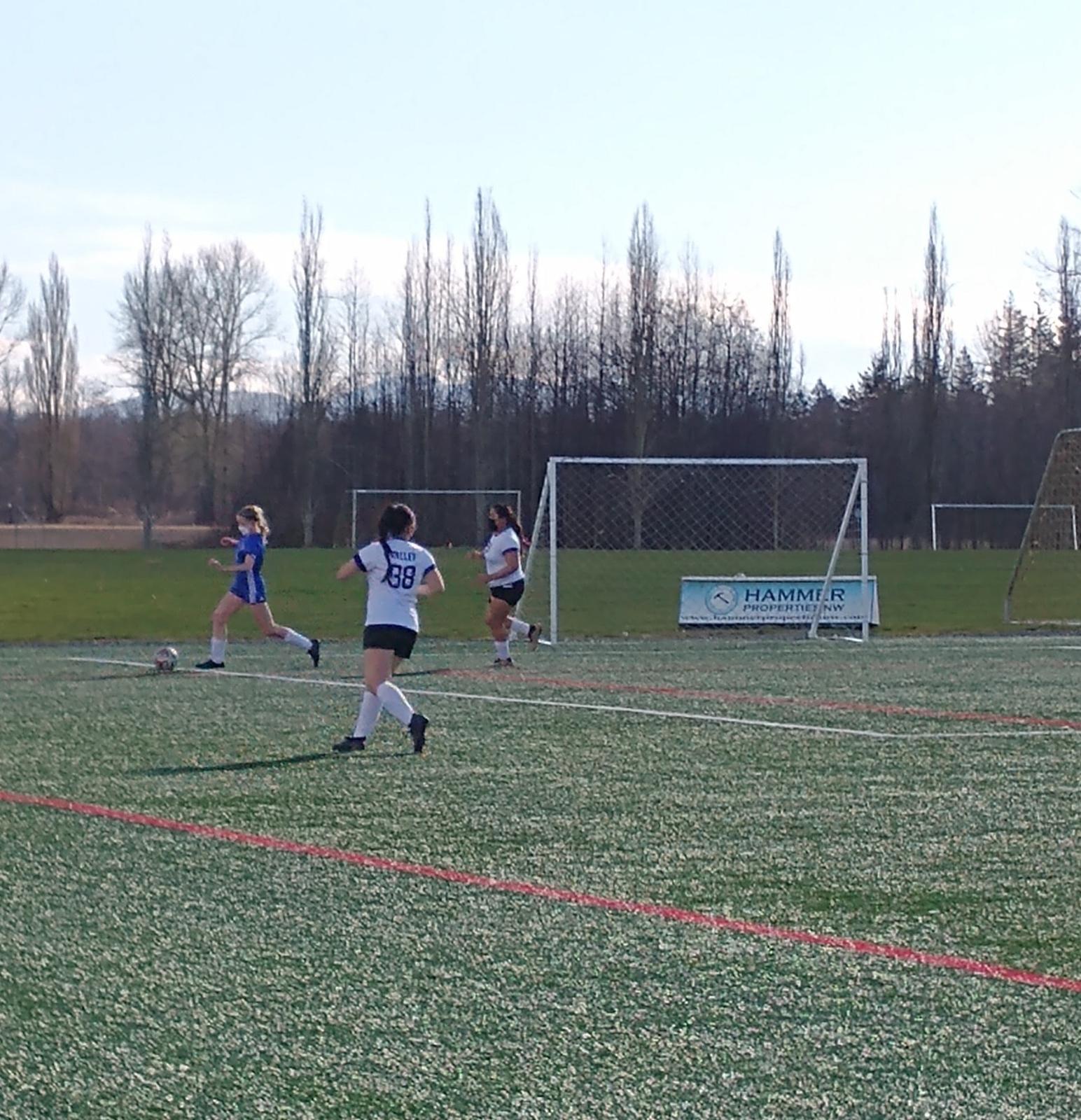 NV Girls Soccer vs Ferndale