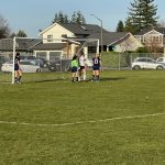 Girls Soccer loses to Lynden Christian