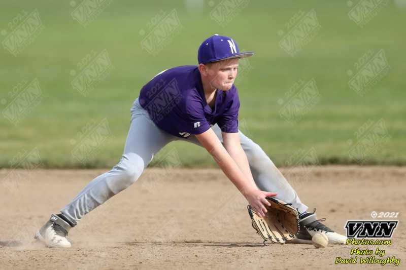 April 21, 2021 Nooksack at Baker 7th Grade Baseball by David Willoughby