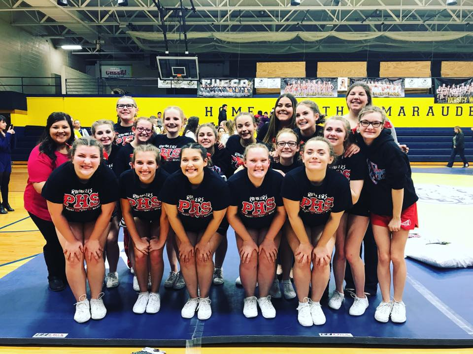 PERRY CHEER ADVANCES TO REGIONALS