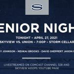 Senior Night! Mens Basketball Vs Union