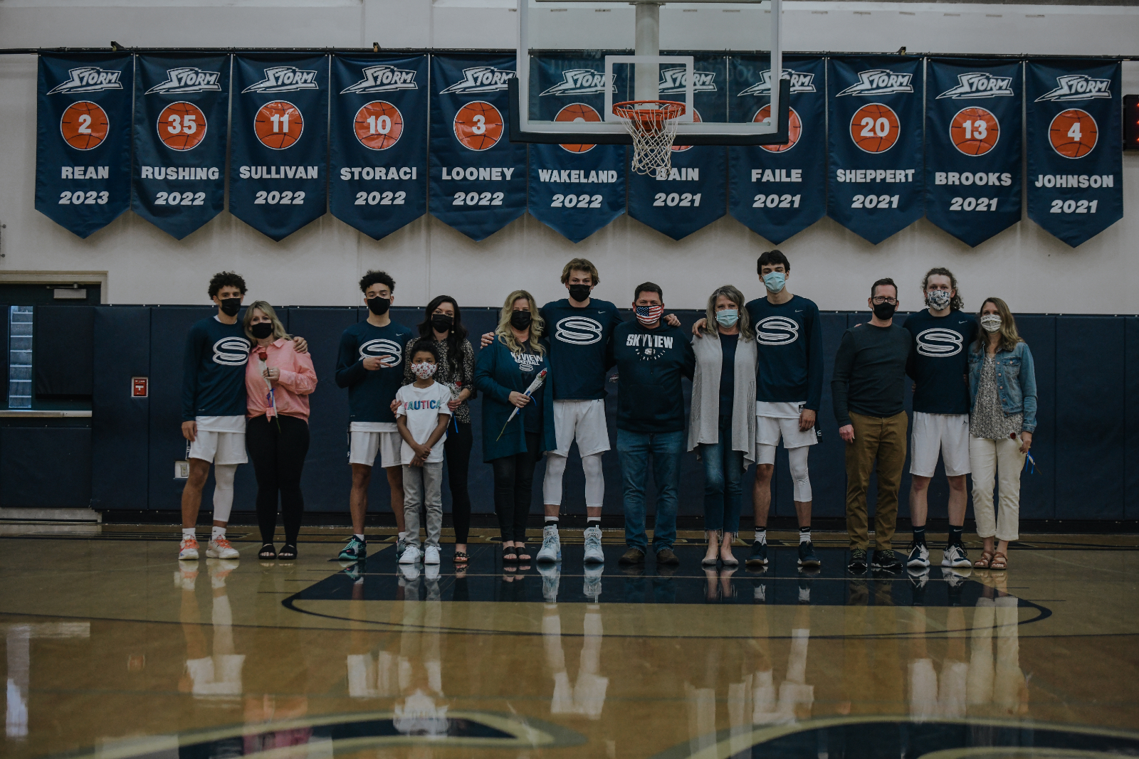 Boys Varsity Basketball – Senior Night photos v Union 4-27-2021