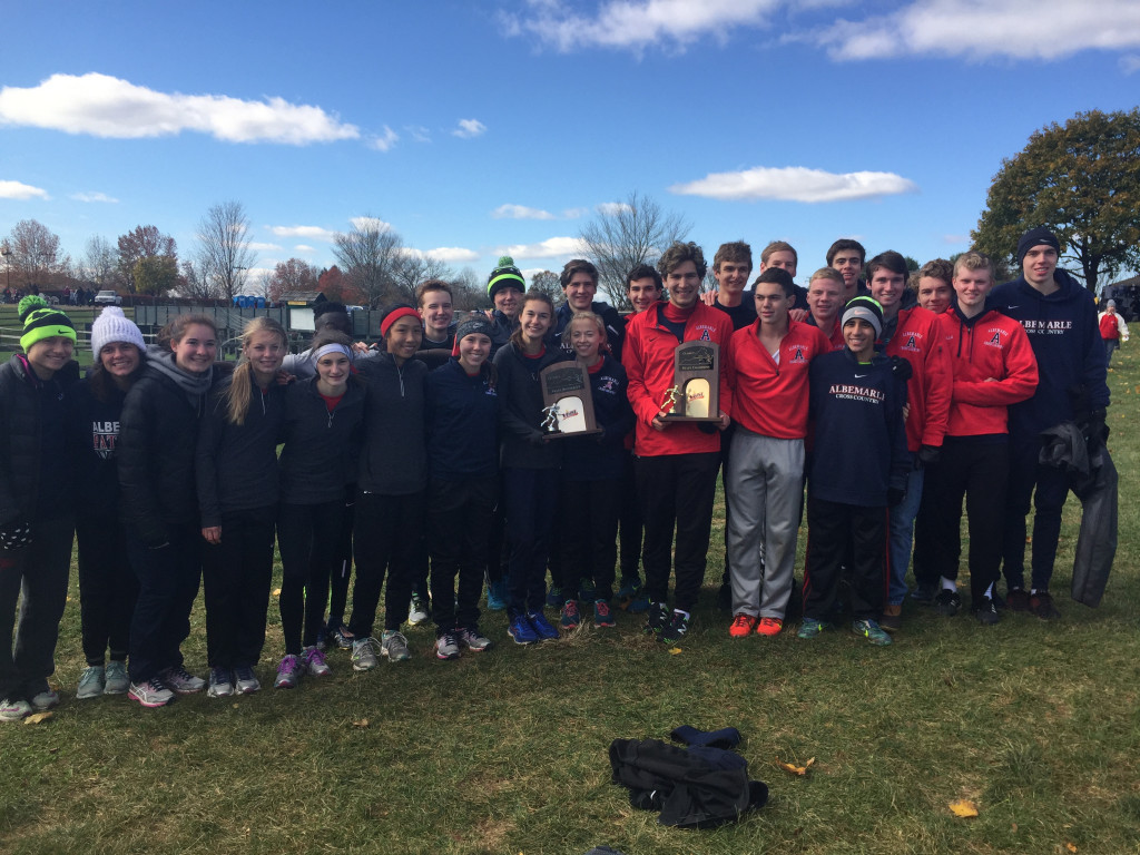 XC BOYS WIN STATES & GIRLS FINISH AS STATE RUNNER UP!